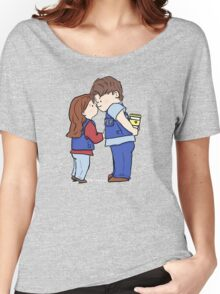 coffee and kisses Women's Relaxed Fit T-Shirt