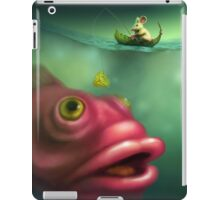 Mouse Fishing iPad Case/Skin