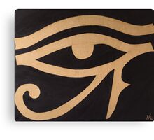 Eye of Horus Canvas Print