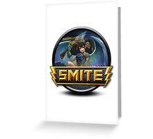 Smite Jing Wei Logo Greeting Card