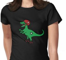 Roller Derby Velociraptor Womens Fitted T-Shirt