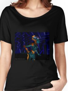 NEMES / HYPER ANDROID FROM HYPERION WORLD Sci-Fi Movie Women's Relaxed Fit T-Shirt
