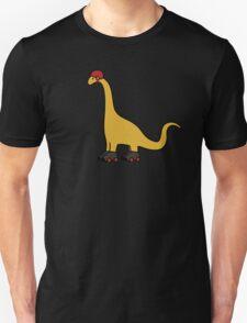 Roller Derby Brachiosaurus Unisex T-Shirt