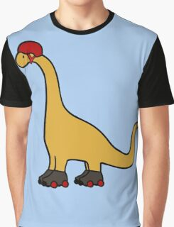 Roller Derby Brachiosaurus Graphic T-Shirt
