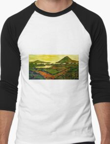 Connemara Panorama Men's Baseball ¾ T-Shirt