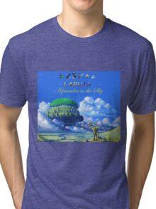 Laputa 'Castle in the sky' Tri-blend T-Shirt