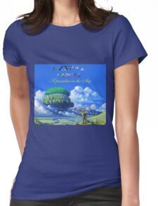 Laputa 'Castle in the sky' Womens Fitted T-Shirt