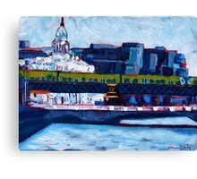 Loopline Bridge, Dublin Canvas Print