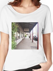 Streetscape Trentham VIC Austraia Women's Relaxed Fit T-Shirt