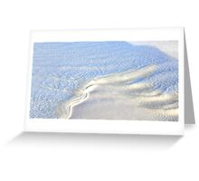 White Sand... Greeting Card