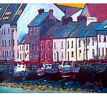The Long Walk, Boats (Galway) Photographic Print