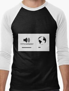 Fifth Harmony vs World Men's Baseball ¾ T-Shirt
