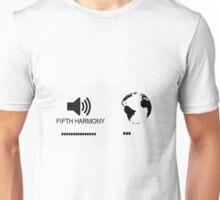Fifth Harmony vs World Unisex T-Shirt