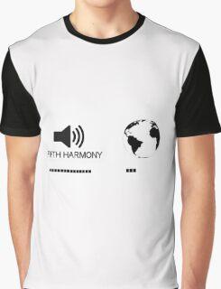 Fifth Harmony vs World Graphic T-Shirt