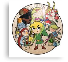 Zelda: Wind Waker Canvas Print