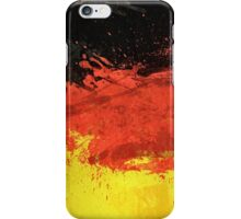 Flag of Germany (Texture) iPhone Case/Skin