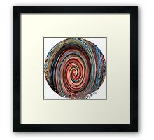 Autumn in Motion - Abstract Framed Print