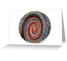 Autumn in Motion - Abstract Greeting Card