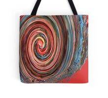 Autumn in Motion - Abstract Tote Bag