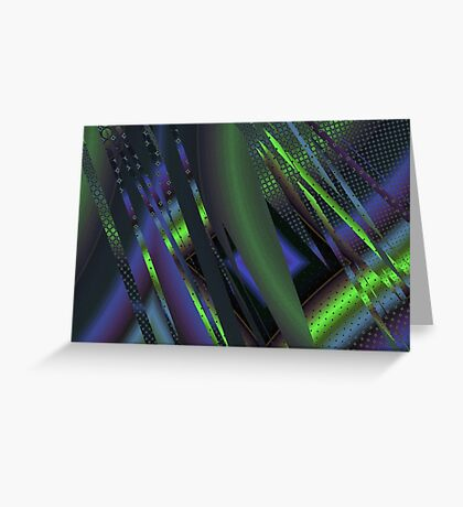 Abstract 0010 Greeting Card