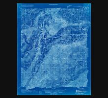 USGS TOPO Map Alabama AL Gantts Quarry 305460 1915 48000 Inverted Unisex T-Shirt