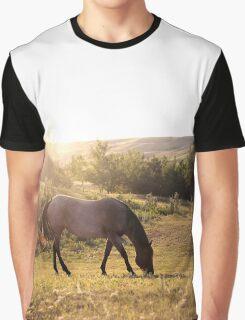 Summertime Pasture Graphic T-Shirt
