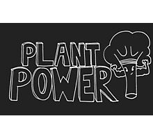 Plant Power- inverted colours Photographic Print