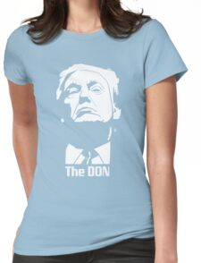 Donald Trump The Don Godfather Womens Fitted T-Shirt