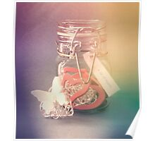 A Jar of Hearts Poster