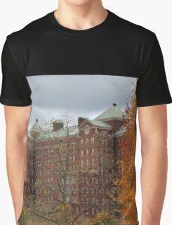 Autumn at Building 93 Graphic T-Shirt