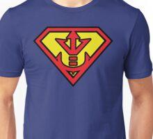 Superman vs Royal Saiyan Symbol Unisex T-Shirt