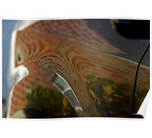House on Car Abstract Poster