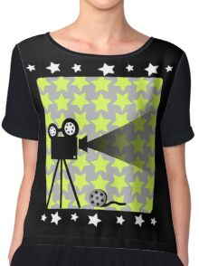 Old movies nostalgia Chiffon Top