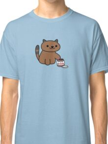 Ganache raiding the Nutella Jar (Neko Atsume) Classic T-Shirt
