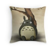 totoro dreamy  Throw Pillow