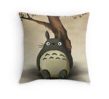 totoro dreamy  Throw Pillow