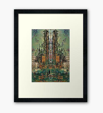 SF4 Framed Print