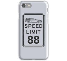 Speed limit iPhone Case/Skin