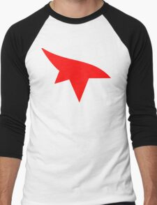 Mirrors Edge Minimalist Logo  Men's Baseball ¾ T-Shirt