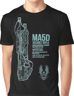 MA5D Assault Rifle Graphic T-Shirt