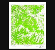 USGS TOPO Map Alabama AL Isbell 304272 1945 24000 Unisex T-Shirt