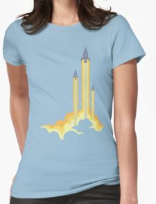 Lift-off! Womens Fitted T-Shirt