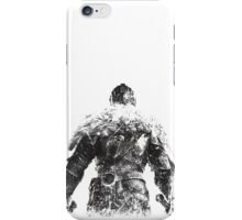 DSIII - Black iPhone Case/Skin