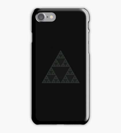 Sierpinski Triangle Fractal iPhone Case/Skin