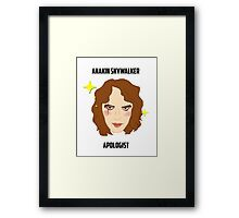 Those Younglings Deserved It Framed Print