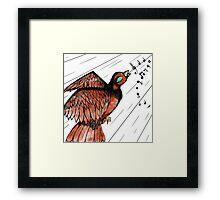 Sing My Little Bird Framed Print
