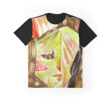 Hands on Face Graphic T-Shirt