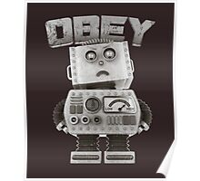Obey The Robot Poster
