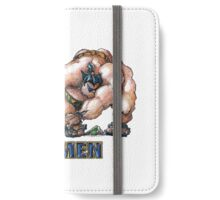 the Fantabulous XXXl men - Sumo-rine iPhone Wallet/Case/Skin