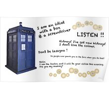 12th Doctor quotes Poster